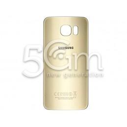Retro Cover Gold + Adesivo Guarnizione Samsung SM-G920 Originale