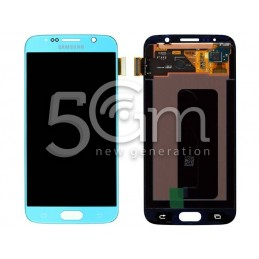 Display Touch Celeste Samsung SM-G920 S6