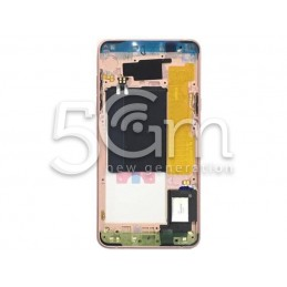 Middle Frame Pink Gold Samsung SM-A510 Ori