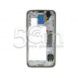 Middle Frame Gold Completo Samsung G900f