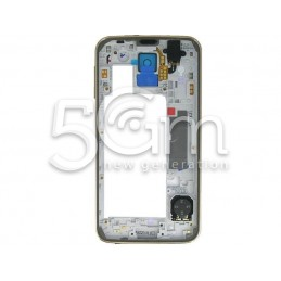 Samsung G900F Full Gold Middle Frame