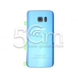 Retro Cover Blu Samsung SM-G935 S7 Edge Ori