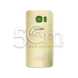Retro Cover Gold + Adesivo Guarnizione Samsung G925 Ori