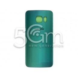 Retro Cover Verde + Adesivo Guarnizione Samsung G925