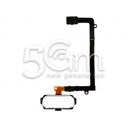 Samsung SM-G925 S6 White Home Button + Flex Cable