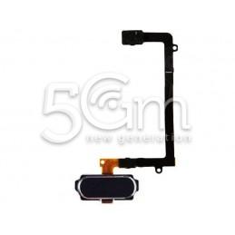 Samsung SM-G925 S6 Black Home Button + Flex Cable