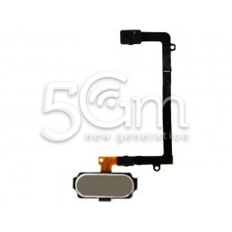 Samsung SM-G925 S6 Gold Home Button + Flex Cable
