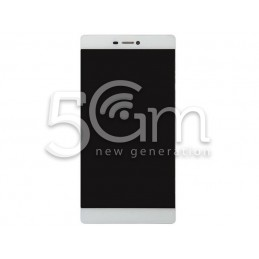 Display Touch Bianco + Frame Huawei Ascend P8