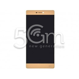 Huawei P8 Gold Touch Display + Frame