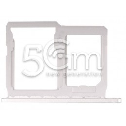 Sim Card/SD Card Tray Silver LG G5 H850