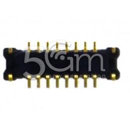 Connettore 8 Pin su Scheda Madre Connessione Altoparlante+Jack Audio +Suoneria Samsung I9100