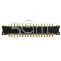 Connettore 17 Pin Su Scheda Madre Connessione Fotocamera Posterione Samsung I9300
