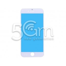 Vetro bianco + Frame Ultra Resistente IPhone 7