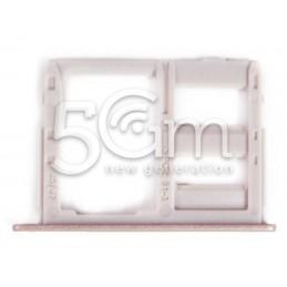 Supporto Dual Sim Card/SD Card Pink Samsung SM-J530