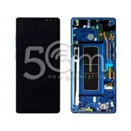 Display Touch Nero Samsung SM-N950 Note 8 Ver BLU