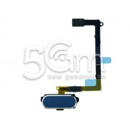 Tasto Home Blu + Flat Cable Samsung SM-G920 S6