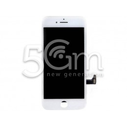 Display Touch White + Frame iPhone 8 No Logo