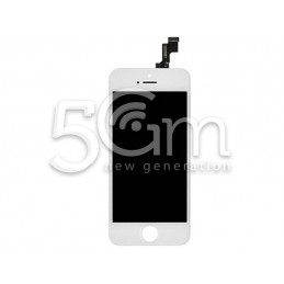 Display Touch Bianco + Frame iPhone 5S No Logo