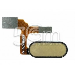 Tasto Home Gold Flat Cable Honor 9
