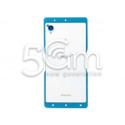 Xperia M4 Aqua White Back Cover + NFC