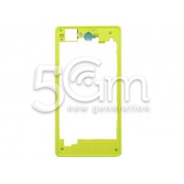 Sony Xperia Z1 Compact Yellow Back Frame