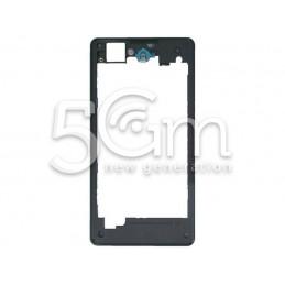 Sony Xperia Z1 Compact Black Back Frame