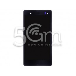 Display Touch Purple + Frame Xperia Z