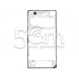 Sony Xperia Z1 L39H White Back Frame