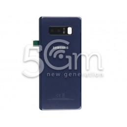 Retro Cover Blu Samsung SM-N950 Note 8