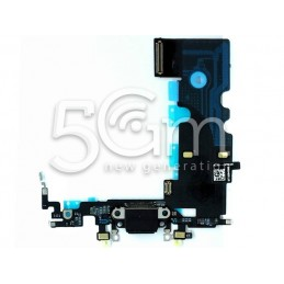 Connettore Di Ricarica Nero Flat Cable iPhone 8