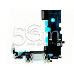 Connettore Di Ricarica Grigio Flat Cable iPhone 8