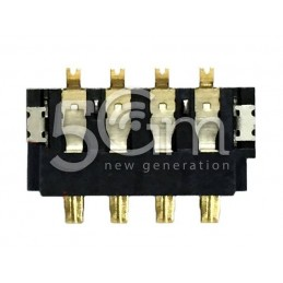 Connettore 4 Pin Su Scheda-Madre Connessione Batteria Samsung GT-I9505 S4