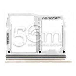 Supporto Sim Card + Micro SD Gold Lg G6 H870