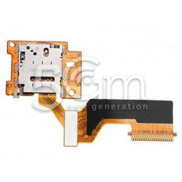 Lettore SIm Card Flat Cable HTC One M9