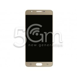 Display Touch Gold Samsung SM-G610F J7 Prime