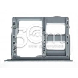 Supporto Dual Sim Card/SD Card Silver Samsung SM-J530