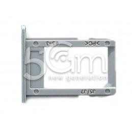 Supporto Sim Card Silver-Blue Samsung SM-J530