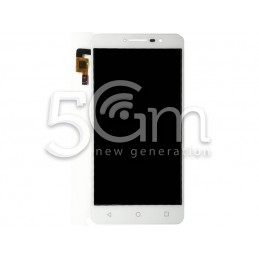 Display Touch White Alcatel OT-9008 A3 XL
