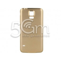 Retro Cover Gold Samsung SM-G900F Ori