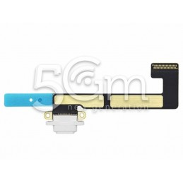 iPad Mini 3 White Charging Connector Flex Cable No Logo