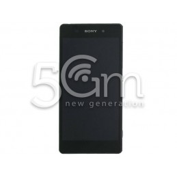 Xperia Z2 D6503 Black Touch Display + Frame