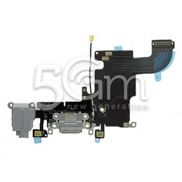 iPhone 6S Dark Grey Charging Connector Flex Cable  No Logo