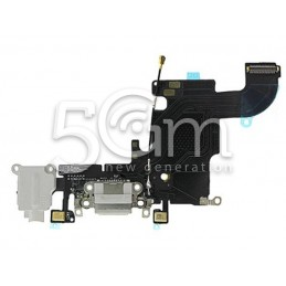 iPhone 6S White Charging Connector Flex Cable No Logo