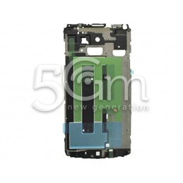 Samsung N910F Galaxy Note LCD Frame White Version