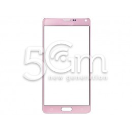 Glass Pink Samsung SM-N910 Galaxy Note 4 No Logo
