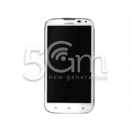 Display Touch Bianco + Frame Huawei P6