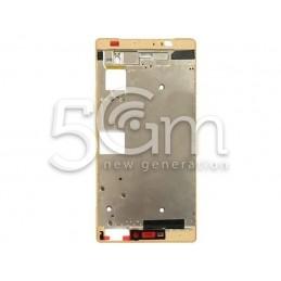 Frame Lcd Gold Huawei P8