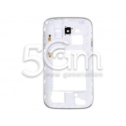 Samsung I9060 White Middle Board + Grey Frame