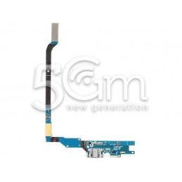 Connettore Di Ricarica Flat Cable Samsung I9505 S4 No Logo