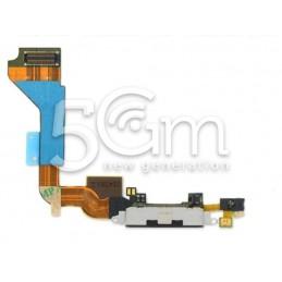 Connettore Di Ricarica Nero Iphone 4g